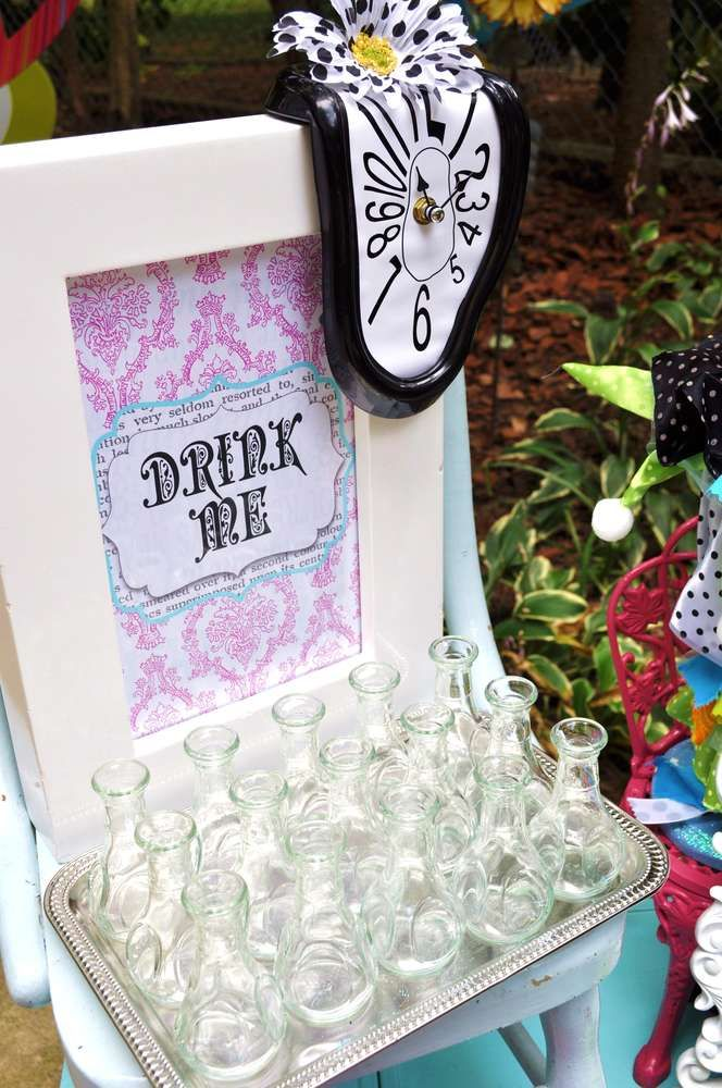 Alice in Wonderland Mad Tea Party Birthday Party Ideas | Photo 1 of 35 | Catch My Party