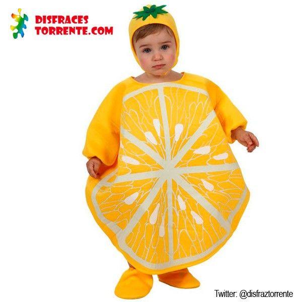 Disfraz de lim n beb disfraces carnaval 2015 ni os - Disfraz de pescado ...