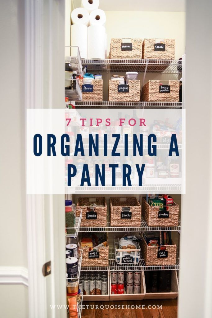 How To Organize A Pantry Pantry Organization Diy Pantry Organization Pantry Design