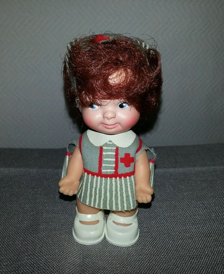 3 5 Quot Peewee Nurse Doll By Uneeda From 1965 She Was My