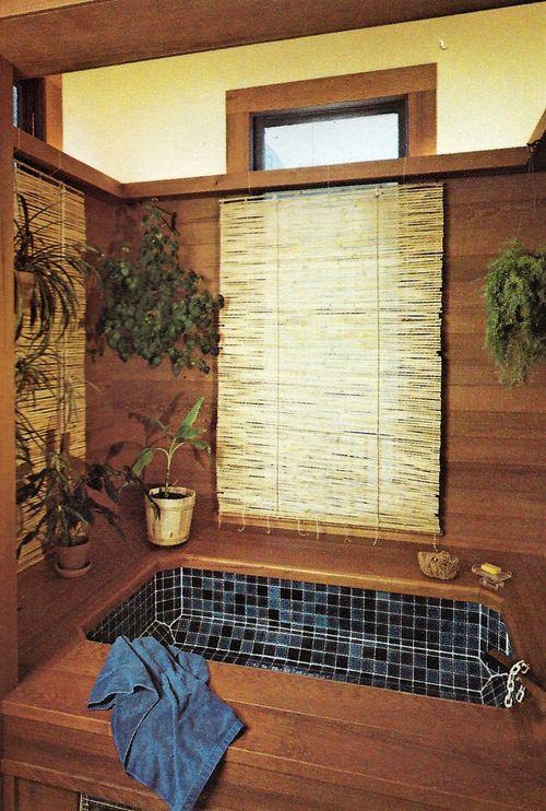 Sunken Bath. Planning & Remodeling Bathrooms | Sunset Books ©1975