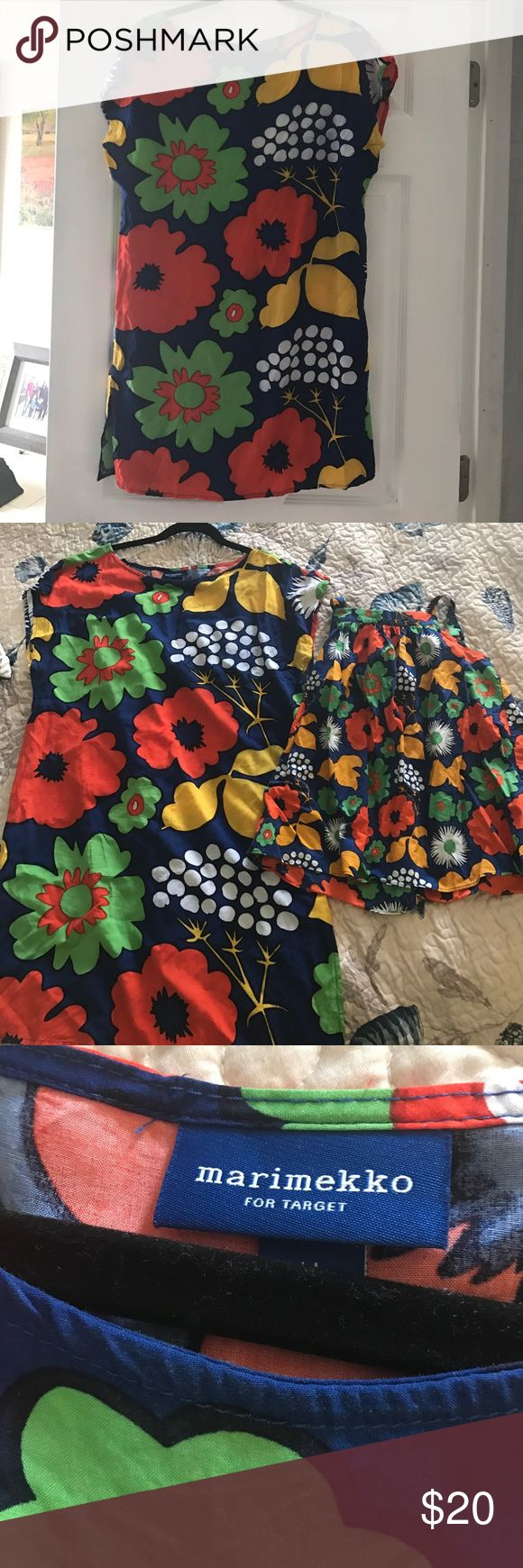 Marimekko for target cover up! Like new Worn once size medium brightly colored cover up. No signs of wear. Also have a 4t matching one for sale mommy and me! Swim Coverups