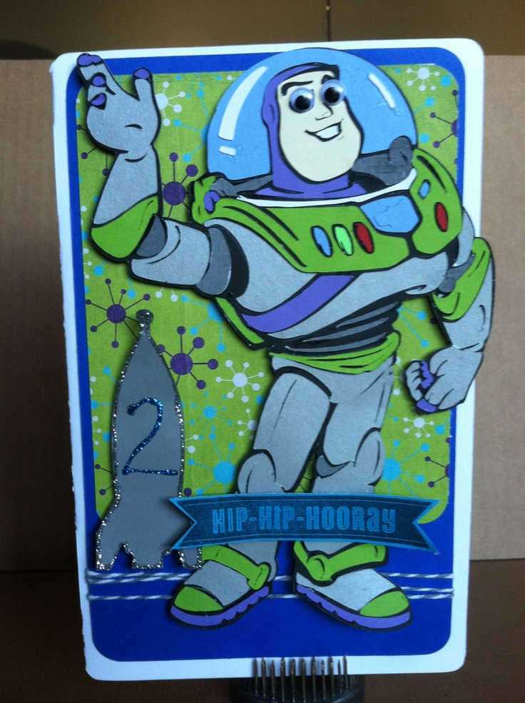 147 best Buzz lightyear images – Buzz Lightyear Birthday Card