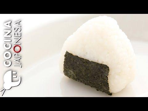 Recetas japonesas: Como preparar Onigiri / Cocina Japonesa con Taka Sasaki - YouTube