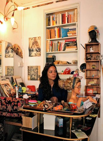 Chine Machine Secondhand Shop (100 Rue des Martyrs): As seen in the NYTimes, this store asks to be searched for the hidden jewels left for thrift.