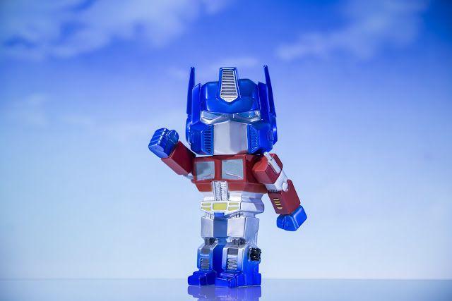 Funko Hikari Optimus Prime Metallic Professional Photos by Jason Yang of Exclu Collective - Tenacious.Ninja - Art Toy Blog