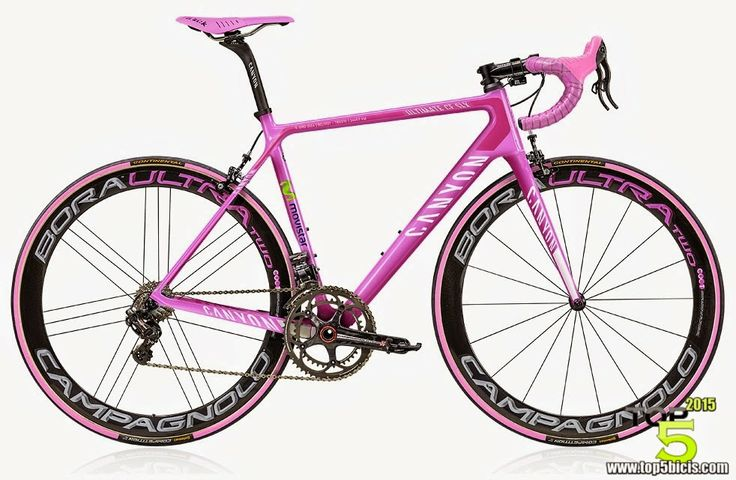 TOP 5 - BICICLETAS DE CARRETERA: Canyon ULTIMATE CF SLX  IL GIRO 2014