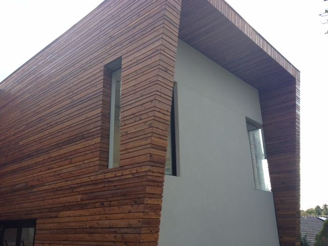 House with Quantum Timber Finishes TIMBREPLUS VERTICAL