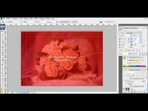 Come fare un Biglietto da visita con Illustrator - vedi altro su www.miofotolibro.it/video_tutorial.php