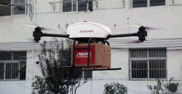 Que un dron traiga un paquete a tu casa ya es posible en China - https://www.hwlibre.com/dron-traiga-paquete-casa-ya-posible-china/