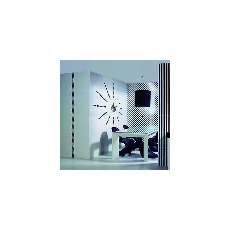 Art Mural - Stickers Muraux - BRICOLAGE Wall Sticker Horloge (0752-10A022)