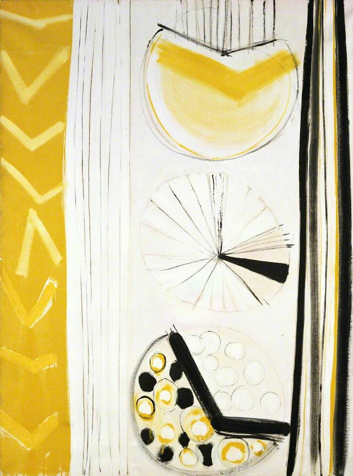 Terry Frost - Lemon and White, Spring '63