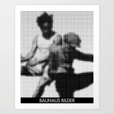 Bauhaus Bilder 1 Art Print by THE USUAL DESIGNERS - $16.00