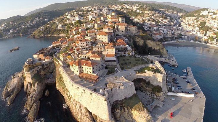Ulcinj and Velika Plaža (Montenegro) - Aerial Video Footage