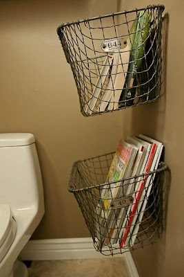 cute magazine storage