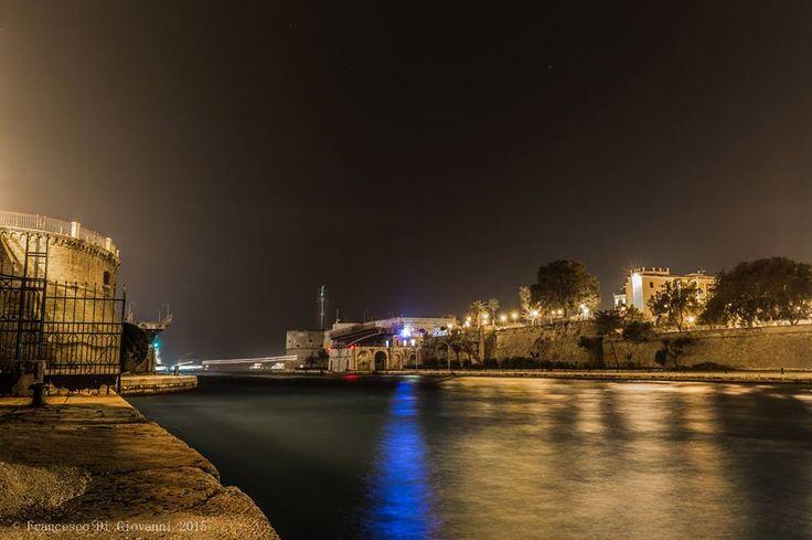 Il Castello Aragonese di Taranto secondo Francesco Di Giovanni  #Taranto #Puglia #Italy