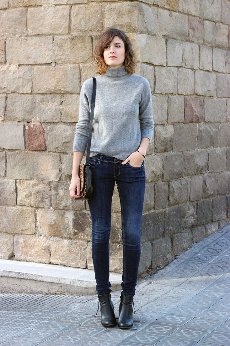 Maria grey sleeveless polo neck - Turtleneck Sweaters Are Back 25 Ways To Wear The Trend This Fall