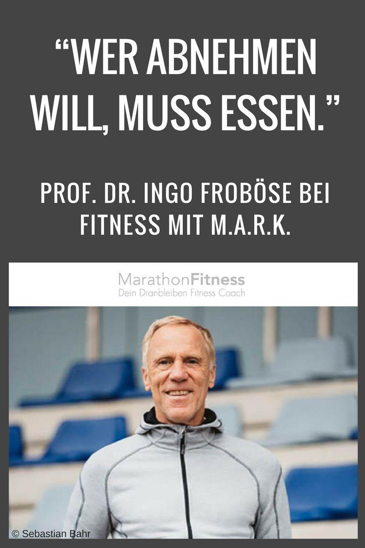 Prof. Dr. Ingo Froböse – Die Wissenschaft vom athletischen Körper – Mark Maslow – MarathonFitness