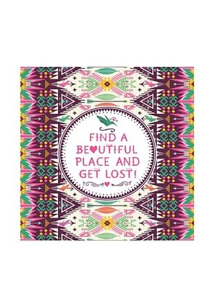 New Era Art Find a Beautiful Place  Wall Decal, 14