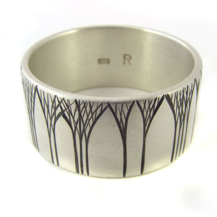 TREE: grove ring, Kanuka Arches, silver