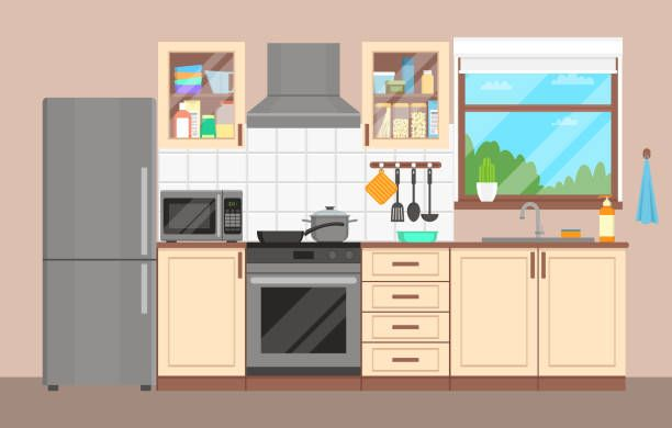 image result for kitchen cabinets clipart templates