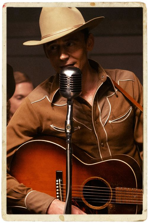 """Listen to Tom Hiddleston Do His Best Hank Williams Impression on """"Jambalaya"""". """"It's a truly impressive performance, and it's hard to take your eyes off him—especially onstage, where he really shines (those guitar lessons paid off)."""" Link: http://noisey.vice.com/blog/hank-williams-tom-hiddleston-jambalaya"""