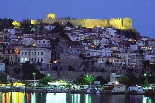 VISIT GREECE  Castle of #Kavala #Macedonia #Greece #greekcastles