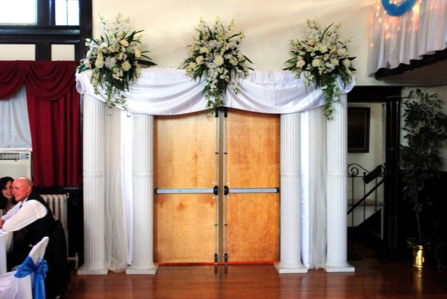 1000 Images About Wedding Door Draping On Pinterest