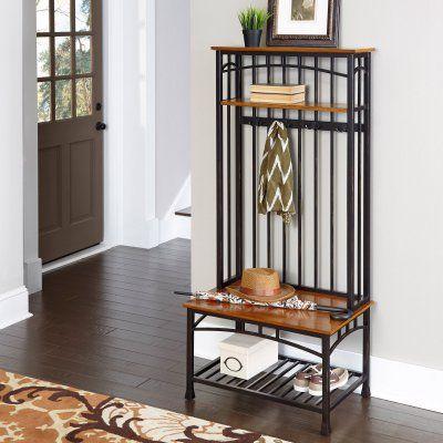 Home Styles Modern Craftsman Hall Tree - 5050-48