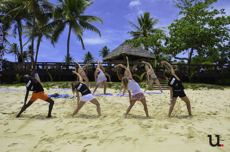 Quick and easy full body workout #fijigradtrips #escapenormal #tripofalifetime