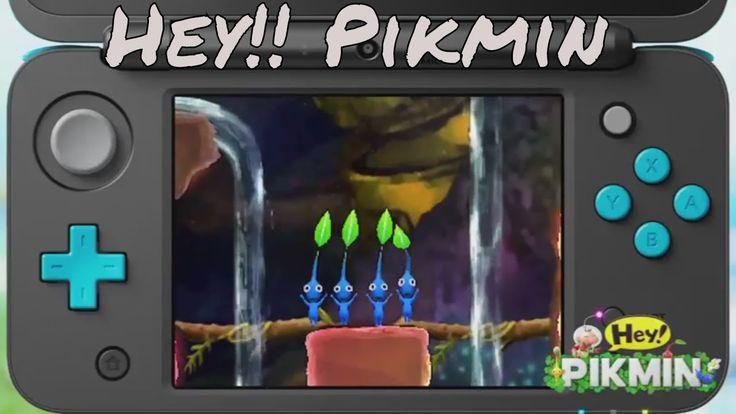 Hey! Pikmin Official Crash Trailer