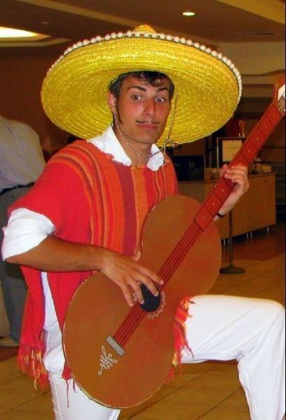 Национальный костюм мексики состав