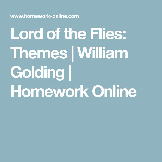 a literary analysis of the rules in lord of the flies by william golding View essay - sample literary analysis essay from writing 7981 at university of maryland, baltimore literary analysis essay lord of the flies written by william golding is a novel about a group of.