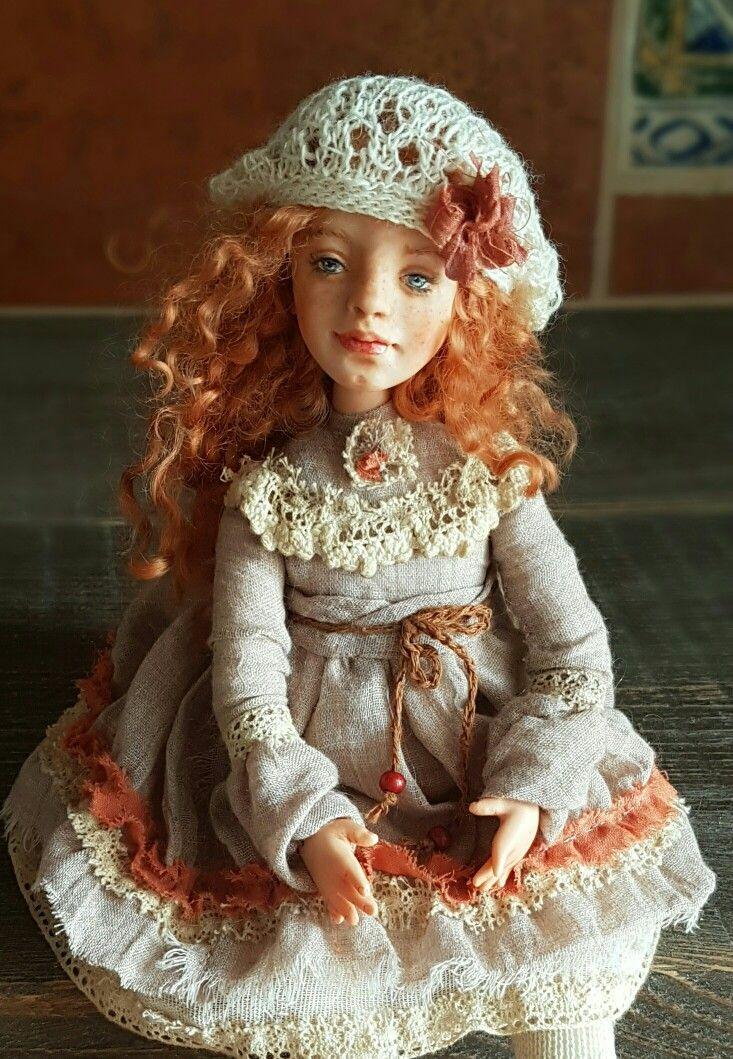 Handmade doll, 25cm