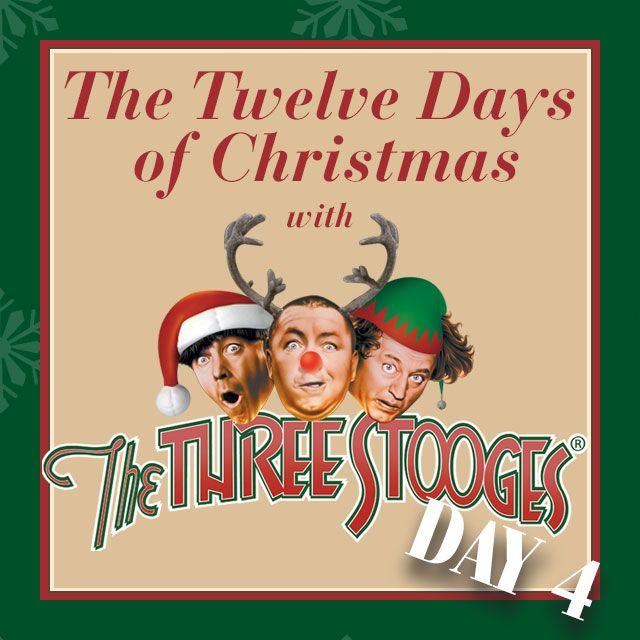 Is that a Cocker Spaniel? No! It's Day 4 of the 12 Days of Christmas with ‪#‎TheThreeStooges‬! https://youtu.be/Rxk05JxBt2M ‪#‎christmas‬ ‪#‎giftideas‬