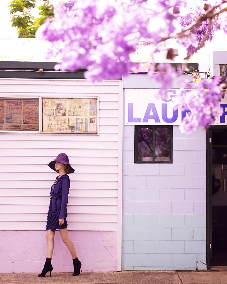 lavender: Design Inspiration, Marie Claire, Color Inspiration, Purple Reign, Corrie Bond, Purple Beautiful, Mary Claire, Fashion Photography, Fashion Editorial