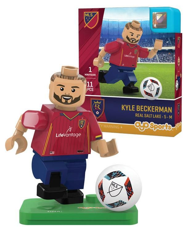 Real Salt Lake KYLE BECKERMAN Limited Edition OYO Minifigure