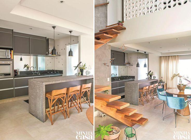Revista MinhaCASA - Cozinha com clima de estar
