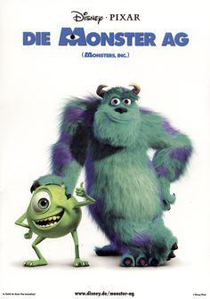 12 best Monster AG images on Pinterest  Pixar movies Disney