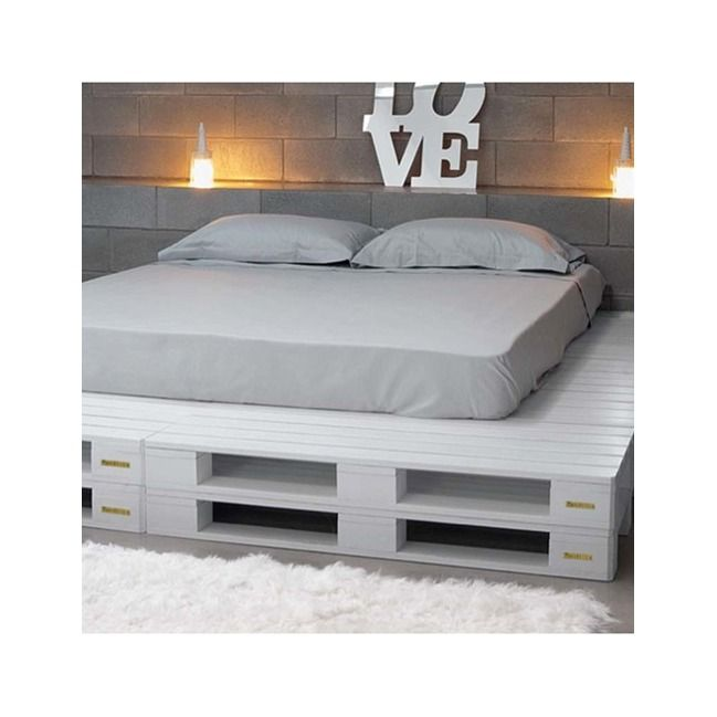 les 25 meilleures id es de la cat gorie sommier palette sur pinterest futon palette salons de. Black Bedroom Furniture Sets. Home Design Ideas