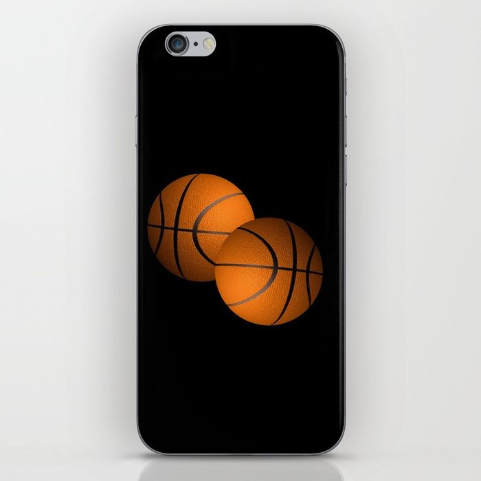 Buy Basketball Sports Design iPhone Skin by leatherwooddesign. Worldwide shipping available at Society6.com. Just one of millions of high quality products available.