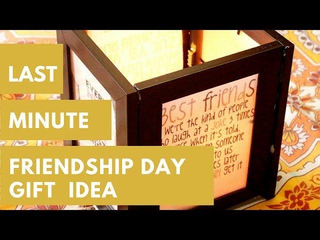 Last Minute Gift Idea For Friend |Friendship Day Gift Idea DIY
