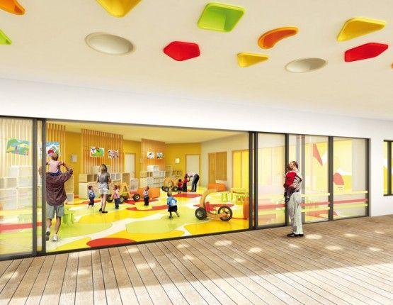 Maison de la petite enfance © A+ architecture