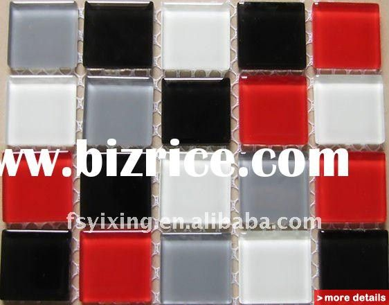 white black red and grey 25 25 square 1 multi color 4mm crystal ct09