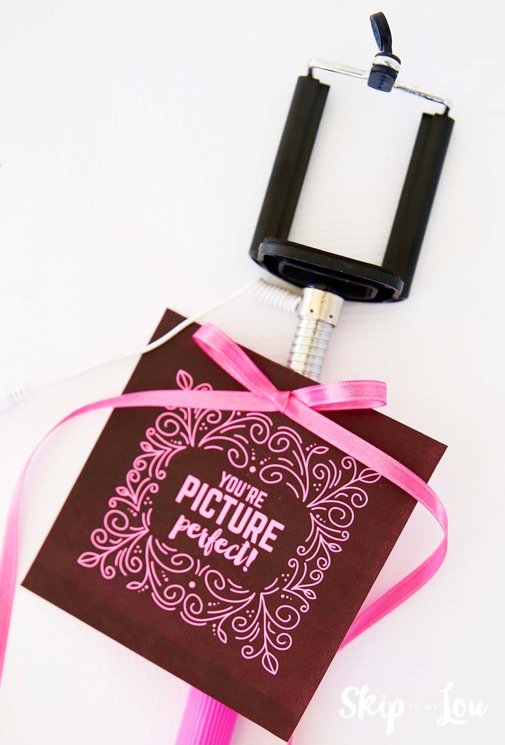 446 best skip to my lou free printables images on pinterest free selfie stick gift with free printable gift tags makes a super cute gift for someone you negle Choice Image