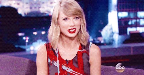 I have been listening to old Taylor songs on REPEAT to get ready, but let's be real that's no different from anything I've been doing for the last eight years.