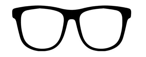 Spectacles cutting file - free from Maya Road company