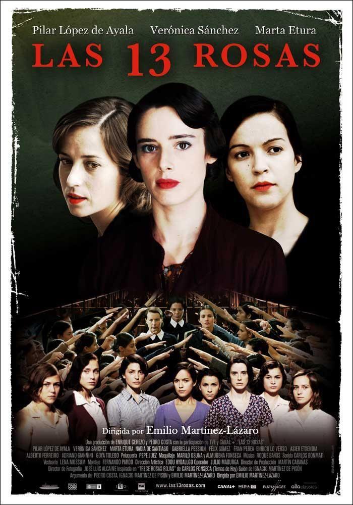 Las 13 rosas (2007) España. Dir: Emilio Martínez-Lázaro. Drama. Guerra civil española. Feminismo - DVD CINE 1252