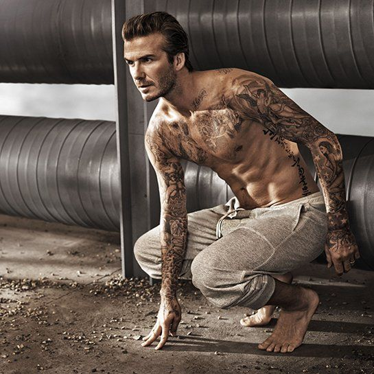 David Beckham is one of 16 Hot Celebrity Dads http://mom.me/style/12723-16-hot-celebrity-dads/