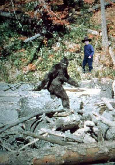 Bigfoot and Carl